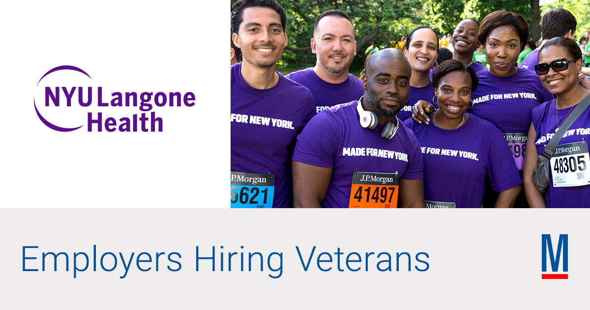 NYU Langone Health | Military com